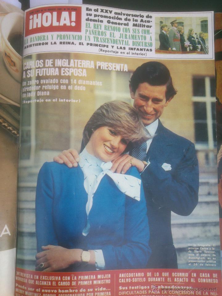 Coleccionismo de Revista Hola: Revista hola VER FOTOS historia de España 13 revistas años;80s - Foto 10 - 51036294