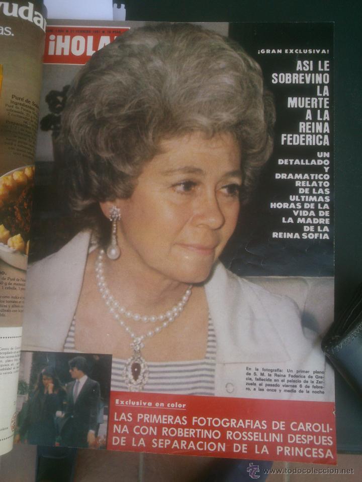 Coleccionismo de Revista Hola: Revista hola VER FOTOS historia de España 13 revistas años;80s - Foto 13 - 51036294