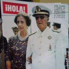 Coleccionismo de Revista Hola: EL CAUDILLO HA MUERTO REVISTA HOLA. Lote 51090636