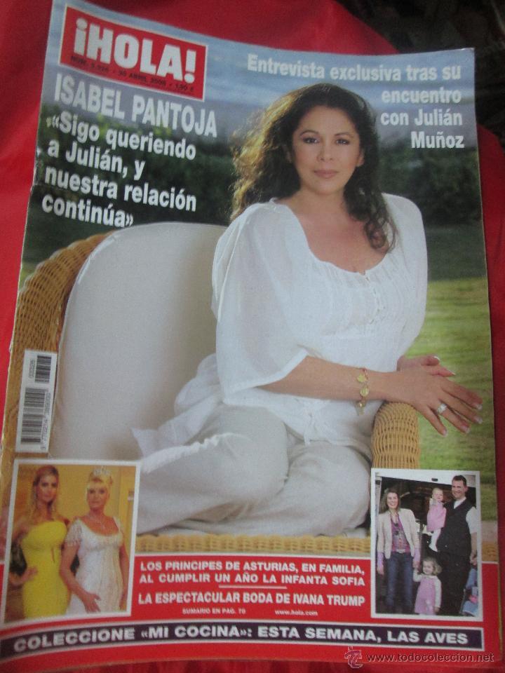 REVISTA HOLA PORTADA ISABEL PANTOJA AÑO 2008 (Coleccionismo - Revistas y Periódicos Modernos (a partir de 1.940) - Revista Hola)