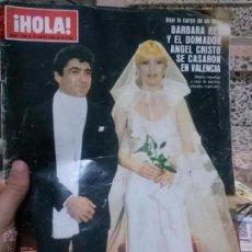 Coleccionismo de Revista Hola: REVISTA HOLA 26 ENERO 1980. Lote 51371050