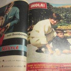 Coleccionismo de Revista Hola: REVISTA HOLA, 17 TOMOS ENCUADERNADOS, 2 DE FEBRERO 1963 AL 25 DE MAYO DE 1963. . Lote 51802554