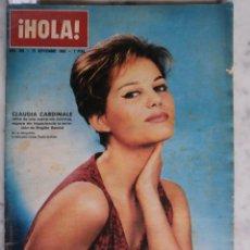 Coleccionismo de Revista Hola: HOLA - Mª CALLAS Y ONASIS - HAYLEY MILLS - GINA LOLLOBRIGIDA - CLAUDIA CARDINALE Nº 995 - 1963. Lote 51996610