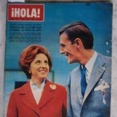 Coleccionismo de Revista Hola: HOLA -GEORGE HAMILTON -DANY SAVAL -JULIETTE GRECO- ROBO DE OBRAS DE ARTE - Nº 1167- 7 /1 /1967. Lote 51997691