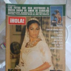 Coleccionismo de Revista Hola: REVISTA HOLA MAGAZINE 1983 LOLITA FLORES,JULIO IGLESIAS,ISABEL PREYSLER. Lote 52005531