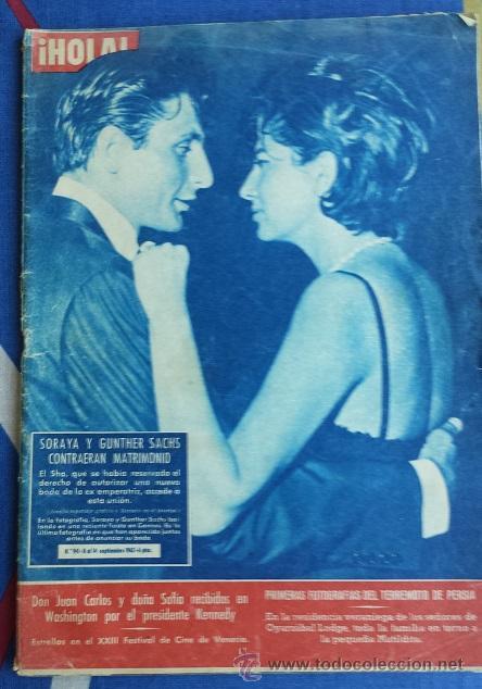 REVISTA HOLA NUM. 941 DEL 14 SEPTIEMBRE 1962 (Coleccionismo - Revistas y Periódicos Modernos (a partir de 1.940) - Revista Hola)