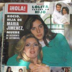 Coleccionismo de Revista Hola: REVISTA HOLA N.2108 19 ENERO 1985. Lote 52708446