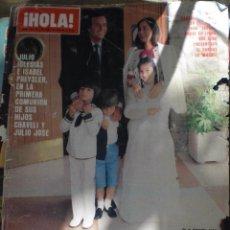 Coleccionismo de Revista Hola: REVISTA HOLA N.1918 6 JUNIO 1981. Lote 52708476