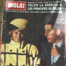 Coleccionismo de Revista Hola: REVISTA HOLA N.2256 12 NOVIEMBRE 1987. Lote 52708496