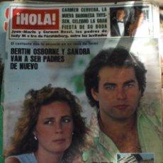 Coleccionismo de Revista Hola: REVISTA HOLA N.2145 5 OCTUBRE 1985. Lote 52708527