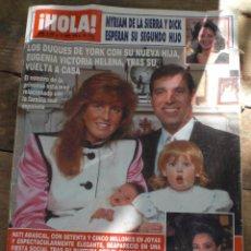 Coleccionismo de Revista Hola: REVISTA HOLA N.2383 12 ABRIL 1990. Lote 52708549