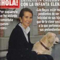 Collectionnisme de Magazine Hola: REVISTA HOLA Nº 2532 AÑO 1993. INFANTA ELENA. LILIANA. ANTONIO BANDERAS. CAROLINA. . Lote 52731652
