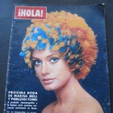 Colecionismo da Revista Hola: REVISTA HOLA. Nº 1328 7 FEBRERO 1970. DESFILES DE MODA . Lote 52851355