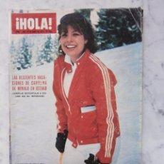 Coleccionismo de Revista Hola: REVISTA HOLA -CAROLINA DE MONACO- LUCIA BOSE -JOHNNY HALLYDAY- LAURA VALENZUELA-JULIO IGLESIAS. Lote 52866926
