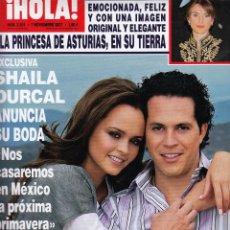Coleccionismo de Revista Hola: REVISTA HOLA Nº 3301 AÑO 2007. SHAILA DURCAL. EUGENIA MARTINEZ. GENOVERA CASANOVA. LARA DIVILDOS.. Lote 52882525