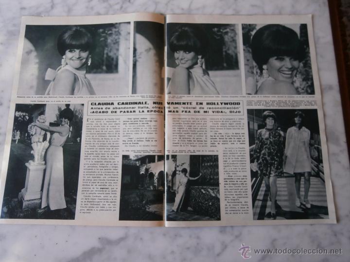Coleccionismo de Revista Hola: reportaje revista hola - claudia cardinale - 4 paginas - Foto 2 - 52889711