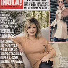 Coleccionismo de Revista Hola: REVISTA HOLA Nº 3665 AÑO 2014. LETIZIA. TERELU CAMPOS. MARTA ORTEGA. HELEN LINDES. . Lote 53016178