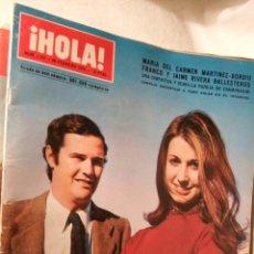 Coleccionismo de Revista Hola - HOLA Nº 1299 CONQUISTA DE LA LUNA PRINCESA GRACIA DE MONACO 19/07/1969 SEAT 850 LOT200 - 109277952