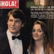 Collectionnisme de Magazine Hola: REVISTA HOLA Nº 1803 AÑO 1979. CHRISTOPHER REEVE. JACKIE ONASSIS. DIANNE PRINZ.. Lote 53081560