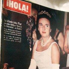 Coleccionismo de Revista Hola: HOLA MAGAZINE 1152 24/09/1966 BAILE GALA EN VENECIA JACKIE KENNEDY LIZ TAYLOR Y RICHARD BURT LOT200. Lote 53088809