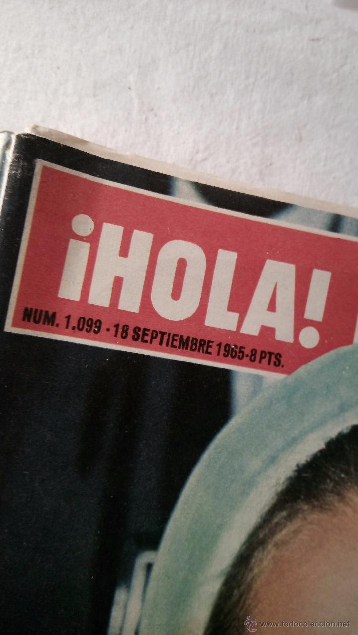 Coleccionismo de Revista Hola: HOLA 1099. Septiembre 1965. Romy Schneider en Segovia. Carolina de Monaco. Peter O´Toole LOT200 - Foto 2 - 53088986