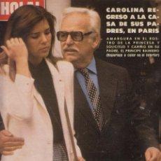 Coleccionismo de Revista Hola: REVISTA HOLA Nº 1883 AÑO 1980. CAROLINA DE MONACO. JOHN TRAVOLTA. SOFIA LOREN. FARRAH FAWCETT. . Lote 53103015