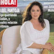 Coleccionismo de Revista Hola: REVISTA HOLA Nº 3326 AÑO 2008. ISABEL PANTOJA. IVANA TRUMP. PRINCIPES DE ASTURIAS. . Lote 53207490