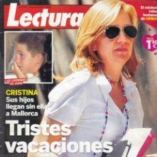 Coleccionismo de Revista Hola: REVISTA LECTURAS Nº 3150 AÑO 2012. INFANTA CRISTINA. KATE. SHAKIRA EMBARAZADA. . Lote 53221506