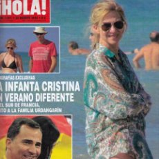 Coleccionismo de Revista Hola: REVISTA HOLA Nº 3551 AÑO 2012. INFANTA CRISTINA. PRINCIPES DE ASTURIAS. TERELU CAMPOS. DAVID BISBAL.. Lote 53221545