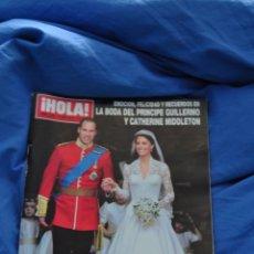 Coleccionismo de Revista Hola: REVISTA HOLA - BODA REAL INGLATERRA - PRÍNCIPE GUILLERMO Y KATE. Lote 53246882
