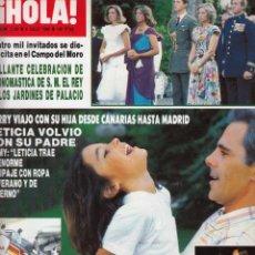 Collectionnisme de Magazine Hola: REVISTA HOLA Nº 2185 AÑO 1986. JIMMY. ANA OBREGON Y ALBERTO DE MONACO. MIKE HAMMER. URSULA ANDRESS.. Lote 53254509