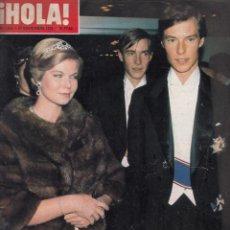 Coleccionismo de Revista Hola: REVISTA HOLA Nº 1683 AÑO 1976. MARIA ASTRID DE LUXEMBURGO. PATTY PRAVO. BRIGITE BARDOT. . Lote 53355862