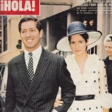 Collezionismo di Rivista Hola: REVISTA HOLA Nº 1451 ÑAO 1972. RAPHAEL MARIA GLORIA Y ALEJANDRO. PRINCIPE ALI REZA. CRISTINA ONASSIS. Lote 53356298