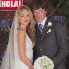 Coleccionismo de Revista Hola: REVISTA HOLA Nº 3277 AÑO 2007. BODA DE PAULINA RUBIO Y NICOLAS VALLEJO-NAGERA. . Lote 53388628