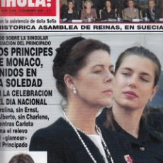 Coleccionismo de Revista Hola: REVISTA HOLA Nº 3409 AÑO 2009. PRINCIPES DE MONACAO. BARONESA THYSSEN. LETIZIA. INES SASTRE. . Lote 53553357