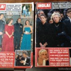 Coleccionismo de Revista Hola: HOLA 1991. Lote 53694191