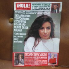 Coleccionismo de Revista Hola: REV. 2372 HOLA 1/90 AMPARO MUÑOZ,MIGUEL BOSÉ,STWART GRANGER,CONSUELO BERLANGA BO DEREK,,MODA.. Lote 54020062
