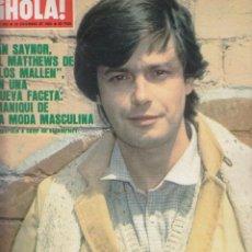Collectionnisme de Magazine Hola: REVISTA HOLA Nº 1895 AÑO 1980. IAN SAYNOR. CARLOS DE INGLATERRA. ISABEL PANTOJA Y PAQUIRRI. PHILIPPE. Lote 54160292