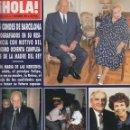 Coleccionismo de Revista Hola: REVISTA HOLA Nº 2412 AÑO 1990. LOS CONDES DE BARCELONA. RAINIERO. JACLYN SMITH. RAISA GORBACHOV.. Lote 54740322