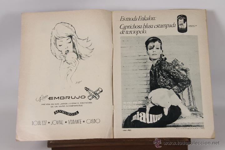 6749 - REVISTA HOLA. ANTONIO SÁNCHEZ GÓMEZ.7 EJEM.(VER DESCRIP). EDIT. HOLA S. A. 1964-1969. (Coleccionismo - Revistas y Periódicos Modernos (a partir de 1.940) - Revista Hola)