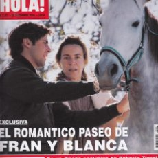 Coleccionismo de Revista Hola: REVISTA HOLA Nº1 3203 AÑO 2005. FRAN Y BLANCA. . Lote 54930979