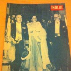 Coleccionismo de Revista Hola: HOLA - CONGRESO EUCARISTICO BARCELONA (1952). Lote 54978924