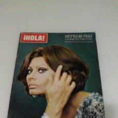 Coleccionismo de Revista Hola: HOLA AÑO 1972 1472 11 D NOVIEMBRE SOFIA LOREN PRINCESA SOFIA BRIGITTE BARDOT MIGUEL BOSE EN LA MILI. Lote 55020701