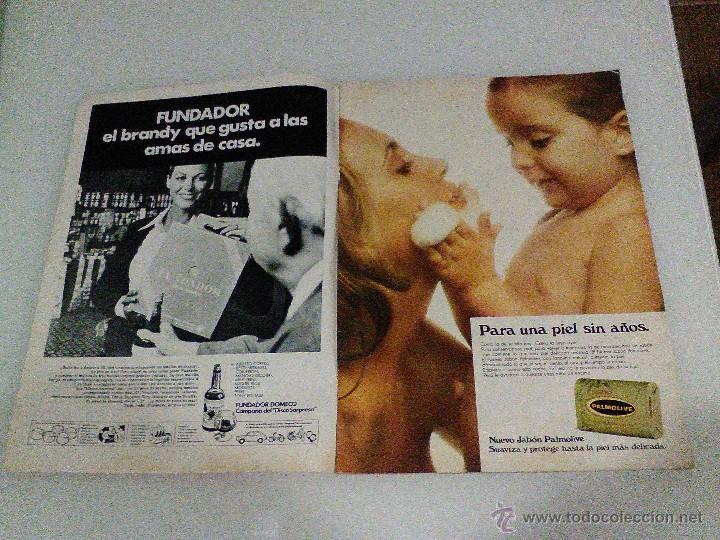 Coleccionismo de Revista Hola: Hola año 1972 1472 11 d Noviembre Sofia Loren princesa sofia brigitte bardot miguel bose en la mili - Foto 2 - 55020701