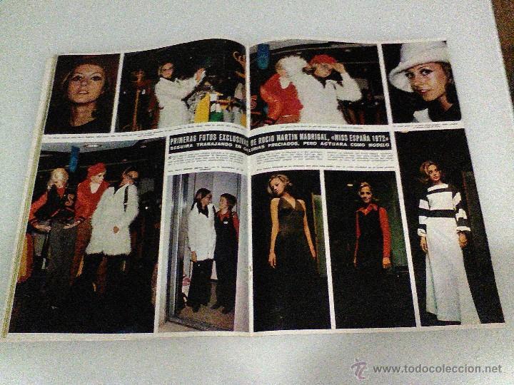 Coleccionismo de Revista Hola: Hola año 1972 1472 11 d Noviembre Sofia Loren princesa sofia brigitte bardot miguel bose en la mili - Foto 3 - 55020701