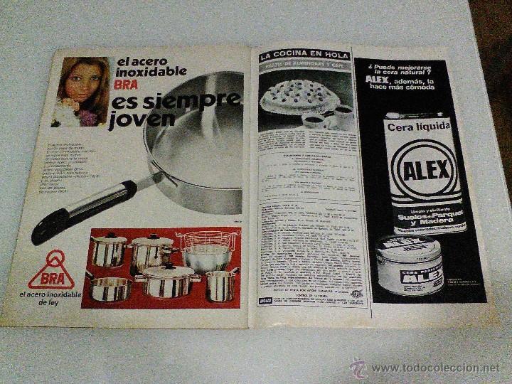 Coleccionismo de Revista Hola: Hola año 1972 1472 11 d Noviembre Sofia Loren princesa sofia brigitte bardot miguel bose en la mili - Foto 4 - 55020701