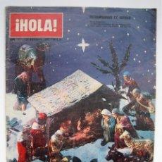 Coleccionismo de Revista Hola: REVISTA HOLA 21 DICIEMBRE 1.963 ( 1.008 ) - EXTRAORDINARIO NAVIDAD -. Lote 55916513