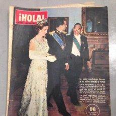Coleccionismo de Revista Hola: REVISTA HOLA 5 DICIEMBRE 1964 NÚMERO 1058. EN PORTADA EL REY BALDUINO Y LA REINA FABIOLA DE BÉLGICA. Lote 56080126