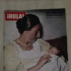 Coleccionismo de Revista Hola: REVISTA HOLA 1973 INFANTA MARGARITA. Lote 56175822