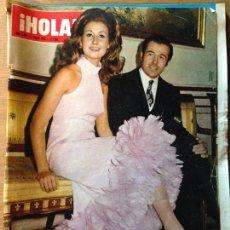 Coleccionismo de Revista Hola: REVISTA HOLA - 1 DE ENERO DE 1972. Lote 56299330